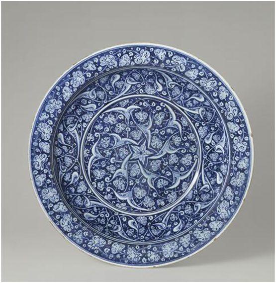 Iznik Pottery. c.1480 - Musee National di Ceramique Sevres