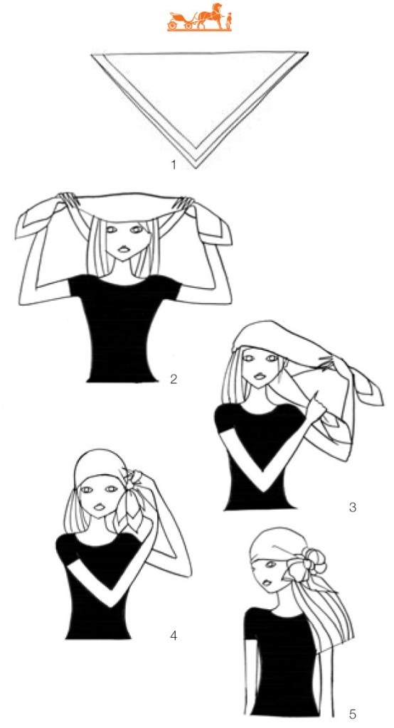 comment attacher son foulard !
