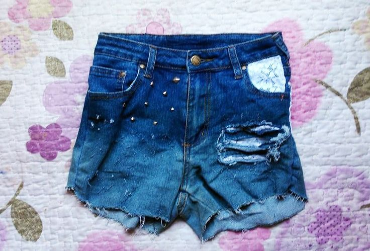 #destroid #DIY #costumizer #short #shorts #blue