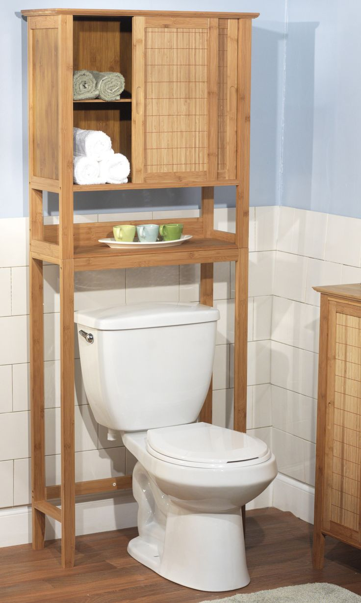 Best 25 over the toilet cabinet ideas on pinterest over - Bathroom wall cabinets and shelves ...