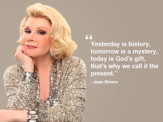 Which Joan Rivers Quote Are You?