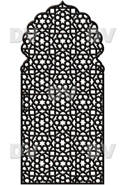 DS258 - Sticker moucharabieh - DECO-VITRES - Adhésif