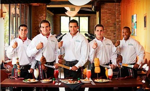 Groupon - Brazilian Churrasco Dinner for One or Two with Drinks and Desserts at Rodizio Grill (Up to 51% Off)  in Maple Grove. Groupon deal price: $23.00