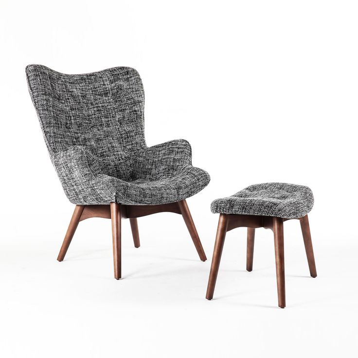 """Paddington Deux Lounge Set. This would be an ideal """"smoking chair"""" for some comic book villain in the 60's!"""