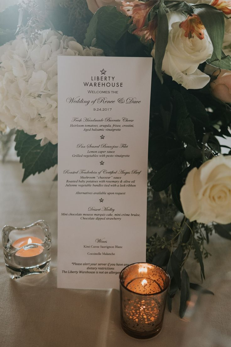 Elegant and classic wedding decor; Liberty Warehouse wedding in Brooklyn NY; PHOTOGRAPHY Joel + Justyna Bedford