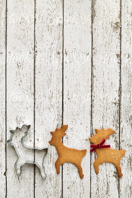 Reindeer cookies by RuthBlack | Stocksy United
