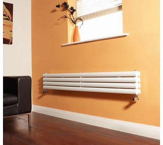 Milano Aruba - White Narrow Horizontal Designer Radiator 236mm x 1600mm - Double Panel Oval Vertical Column No description (Barcode EAN = 5051752082863). http://www.comparestoreprices.co.uk/central-heating-radiators/milano-aruba--white-narrow-horizontal-designer-radiator-236mm-x-1600mm--double-panel-oval-vertical-column.asp