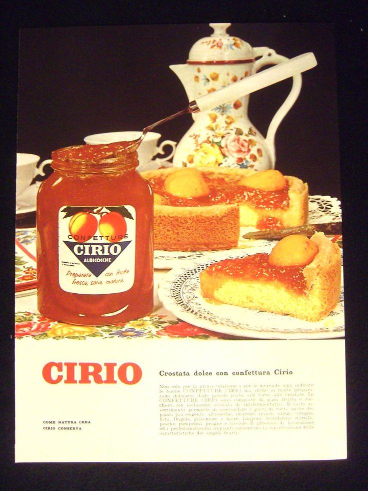 Cirio Confetture Cucina Pubblicita' Anni '60 Advertising  D107 FOR SALE • EUR 4,90 • See Photos! Money Back Guarantee. PUBBLICITA' ORIGINALE TRATTA DA RIVISTA D'EPOCA ANNO DI STAMPA: ANNI '60DIMENSIONI: CM 29 X 21 CIRCAPRESENZA DI TESTO SUL RETRO: SIPASSEPARTOUT: NO IN BUONO STATO PER CONOSCERE I TERMINI E 291596859200