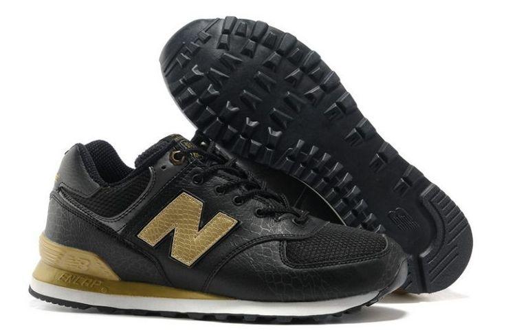 Buy Store UK New Balance 574 Dragon Black Gold Unisex Shoes Online Shop