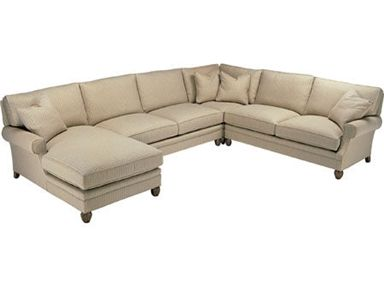 Shop For Wesley Hall RAF/LAS Chaise, And Other Living Room Sectionals At Douds  Furniture In Plumville, PA.
