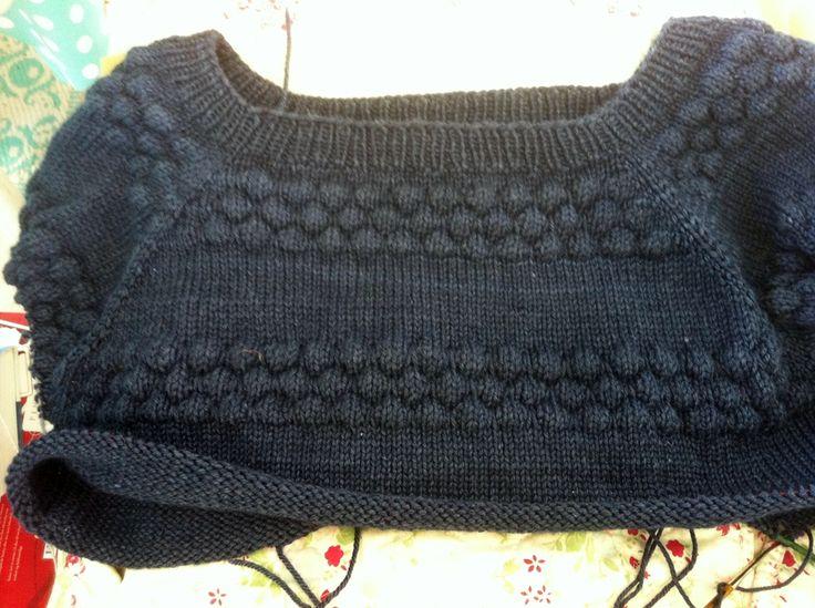start of a sailor's sweater