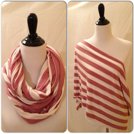 Infinity Scarf/Breastfeeding cover Rust and by DimpleCheekBoutique, $17.00