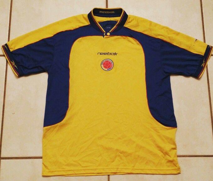 b02c45284dd REEBOK Colombia National Team 1999-2001 Soccer Jersey | Futbol | Mens tops,  Polo ralph lauren, Polo