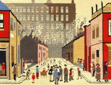 Street Scene Tapestry Kit (Lowry)
