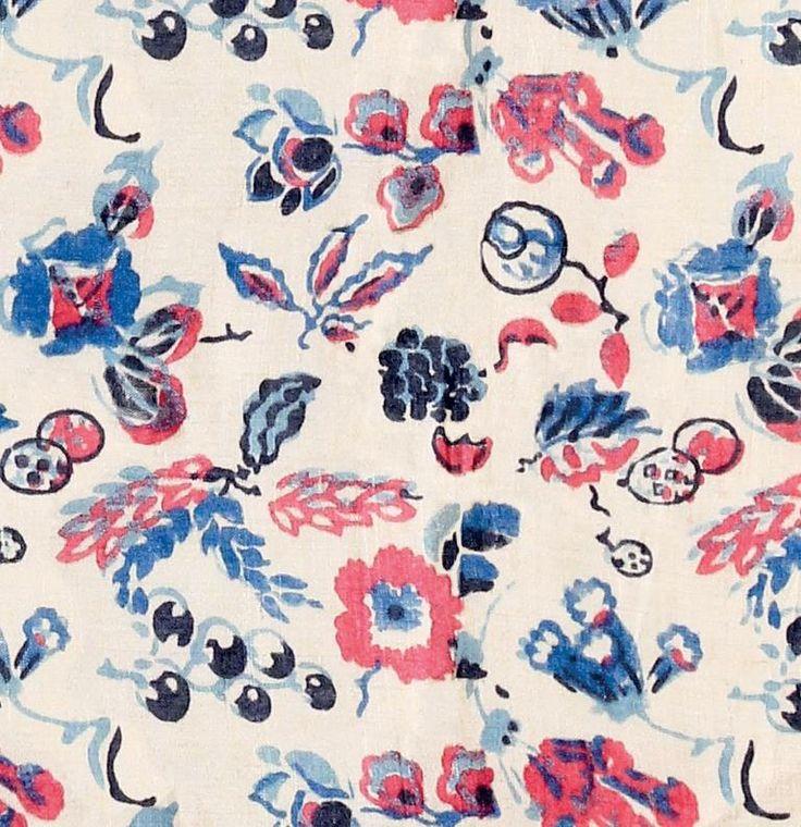 Dorothy Hand-printed silk, 1929 Summer 2014