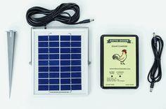 Solar Kit For Automatic Chicken Coop Door