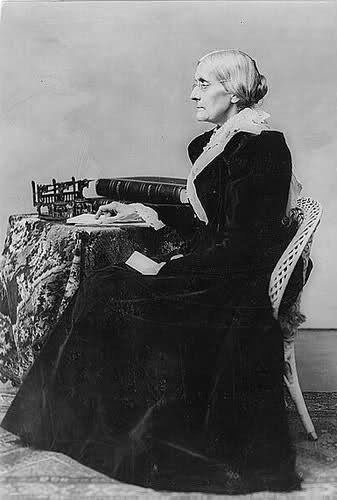 Susan B Anthony Suffragette