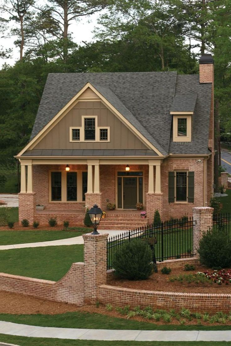 best 25 brown brick exterior ideas on pinterest brown brick houses brown front doors and. Black Bedroom Furniture Sets. Home Design Ideas
