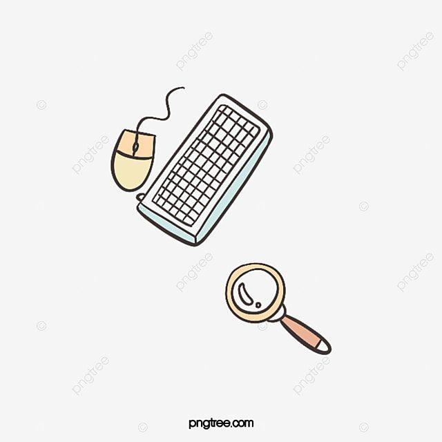 لوحة مفاتيح مكتبية مكبرة بالماوس اللوازم المكتبية لوحة مفاتيح Office لوحة مفاتيح Office Png وملف Psd للتحميل مجانا Magnifying Glass Keyboard Magnifier