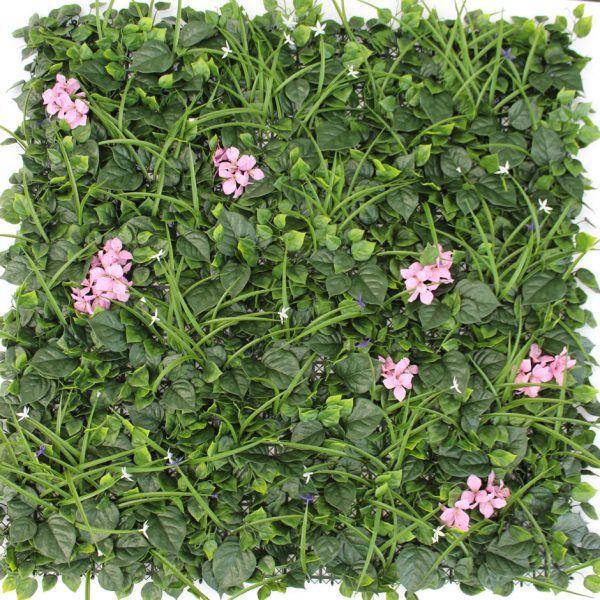 Flower Rush Artificial Vertical Garden 1x1m - $89.98