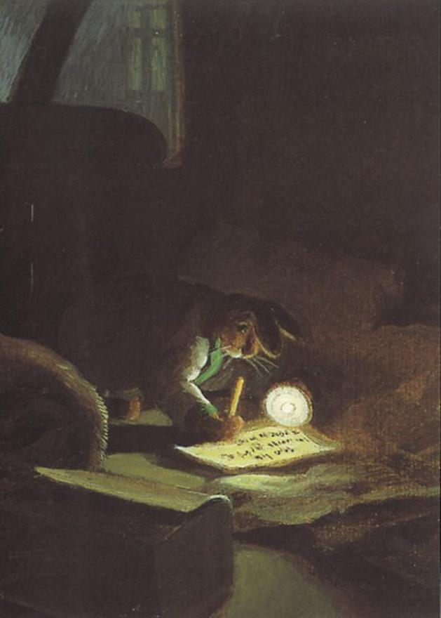 Michael Sowa Art | ... Illustrationen/Reprints » MICHAEL SOWA » Postkarte Michael Sowa 5154