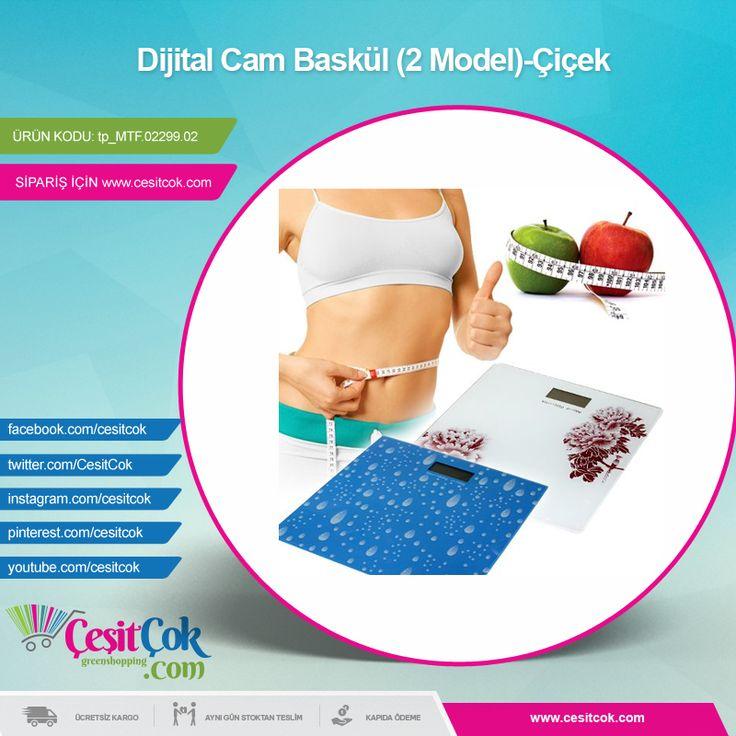 #Dijital Cam #Baskül (2 Model)-Çiçek >> http://goo.gl/NskzTX