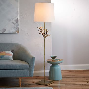 West Elmu0027s Contemporary Floor Lamps Are An Easy Way To Update Your Home.  Modern Floor Lamps Add Scale And Drama To Any Room.