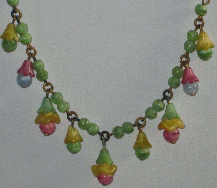 What phrase..., vintage glass flower beads consider, that