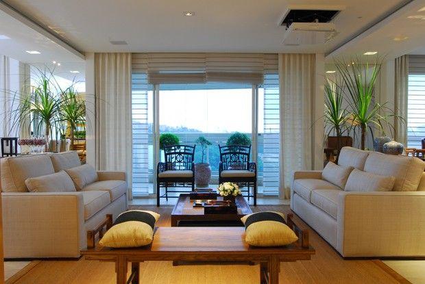 Salas De Tv Em Apartamento ~ Ótima arrumação para uma sala de estar sem tv httpcasavogue
