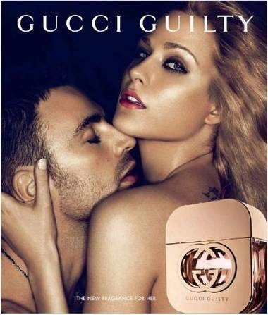 Gucci Ad Campaign for Guilty Perfume
