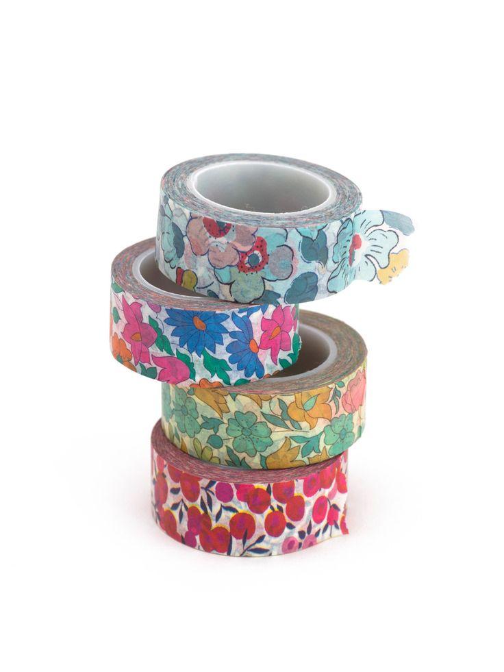 liberty print washi tape
