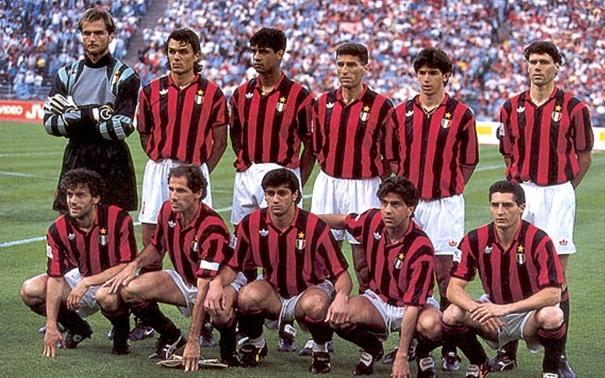 Mejor Equipo de la Historia #5 El Milan de Van Basten