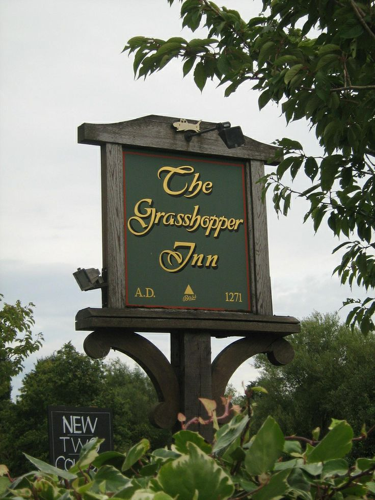 The Grasshopper Inn, parts of this pub were in existence in the 13th century, on the border of Kent & Surrey.