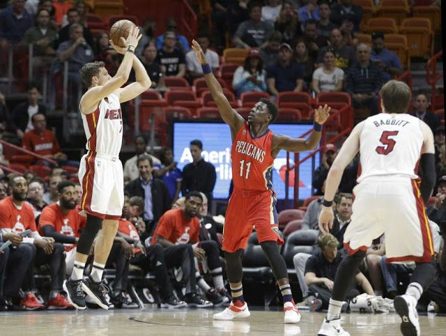 ☆KAB SPORT: Miami Heat 120 - 112 New Orleans Pelicans