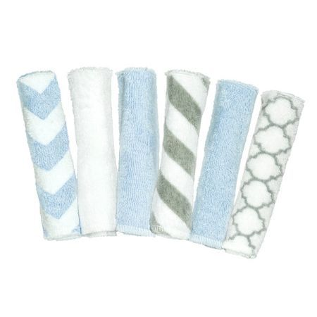 Kushies Wash Cloths 6 pack - A must have for any household with babies or toddlers!