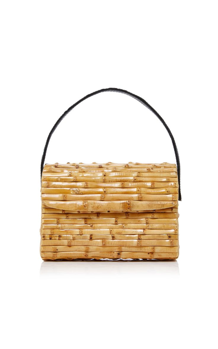 Milano Bamboo Tote by GLORINHA PARANAGUA Now Available on Moda Operandi