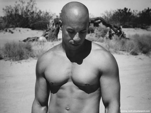 8. Vin Diesel    Born on: July 18th 1967  Sexy because: of his jaw-dropping body, his deep voice and that sexy bald head. Did you know that he is half …