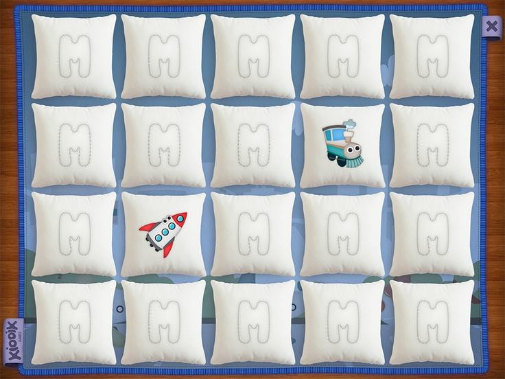 #Memollow - gameplay view ( #iPad Apple Game for Kids )