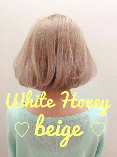 White honey beige blonde | hair cuts and colors ...
