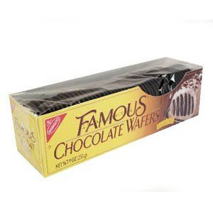 Nabisco, Famous Chocolate Wafers, 9oz Container (Pack of 4) - http://bestchocolateshop.com/nabisco-famous-chocolate-wafers-9oz-container-pack-of-4/