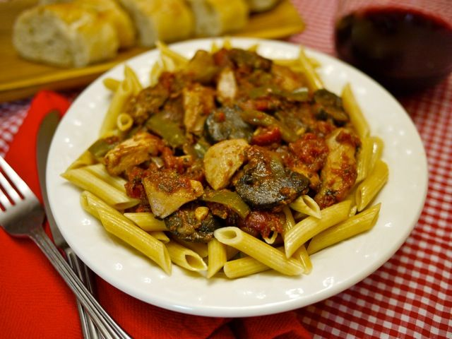Slow Cooker Chicken Cacciatore | Food & bev | Pinterest