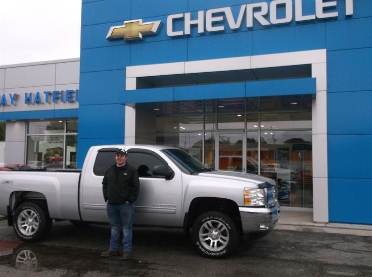 JESSE's new 2013 CHEVROLET SILVERADO! Congratulations and best wishes from Jay Hatfield Chevrolet and EMILY HORN.