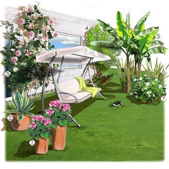 78 best ideas about am nagement jardin on pinterest for Arbre de jardin a croissance rapide