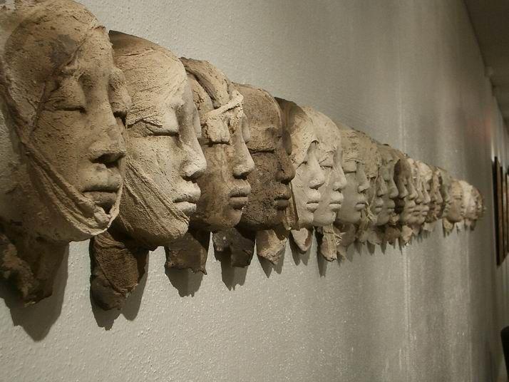 Evelyne GALINSKI : Sculpteur, à