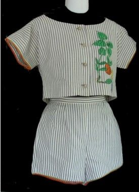 Early 1960s sports separates by Irene Saltern for Tabak - http://thevintagetraveler.wordpress.com/2012/01/11/the-rise-of-sportswear-separates/