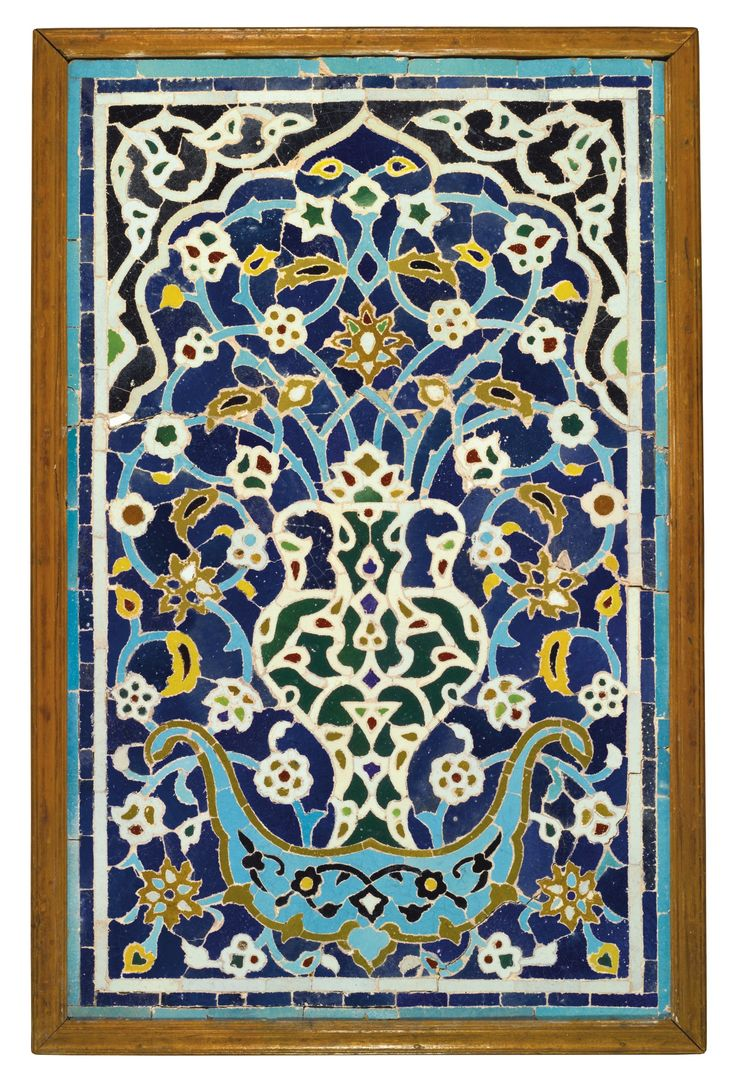 A LATE TIMURID MOSAIC TILE PANEL, PERSIA OR CENTRAL ASIA, 15TH CENTURY