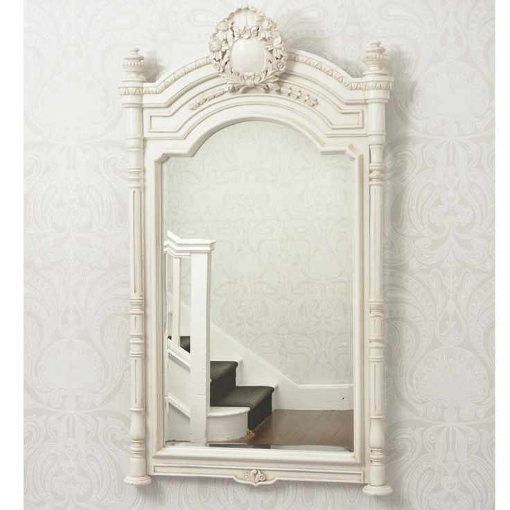 Provencal Column Wall Mirror by The French Bedroom Company