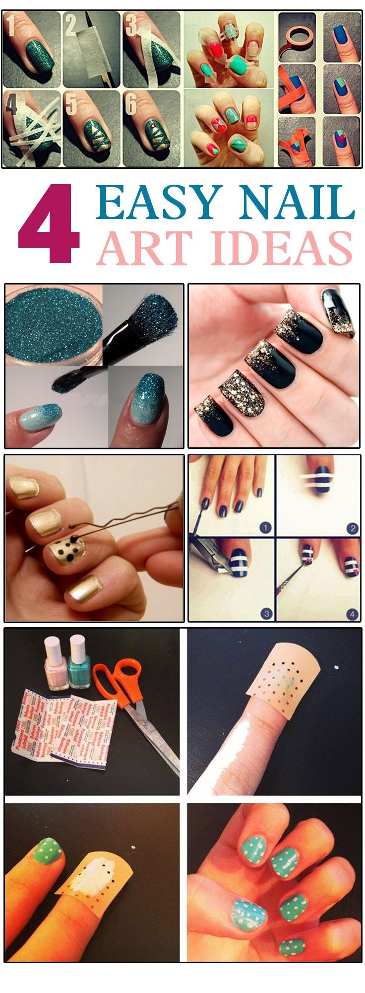 If you think nail art is hard work, then we've just erased the myth. Here are simple nail art tips that'll transform your nails beautifully. If you are wondering, why should you do nail art,then you must know that it has become as important as applying a lipstick. Nails have become the major trendsetting accessory. It is the most important part of the overall look. Your favourite celebrities love to flaunt them & fashion designers consider it important for models on the runway.
