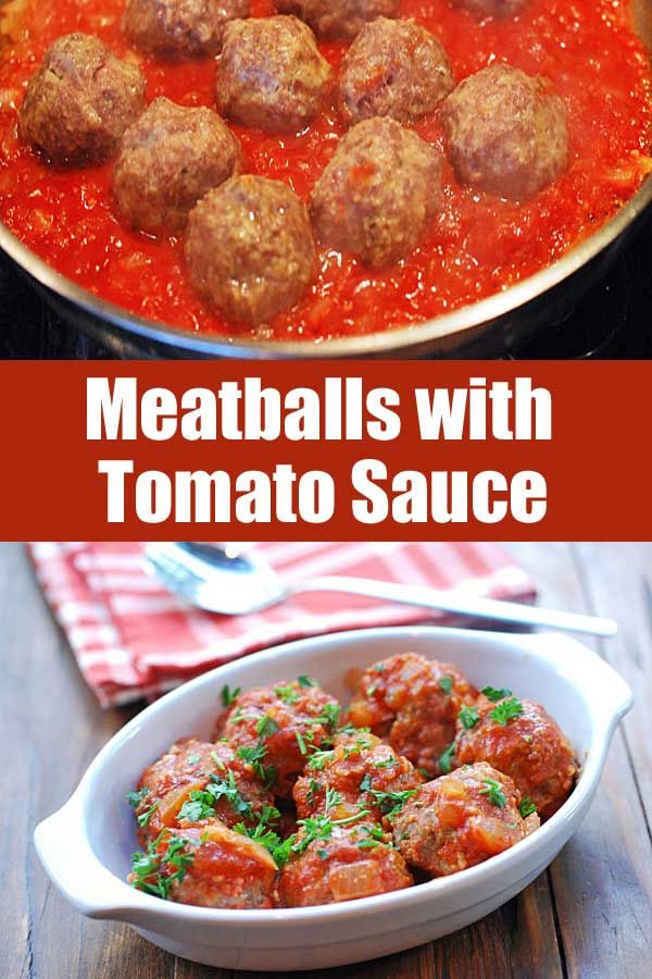 Meatballs In Tomato Sauce Recipe Healthy Recipes Minced Beef