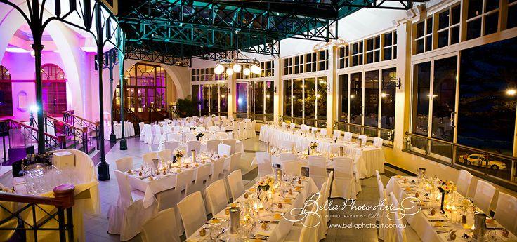 Steven and Cierwen's wedding at Crowne Plaza Terrigal. Photography courtesy of Bella Photo Art - Photography by Bella #seasalt #wedding #crowneplazaterrigal #beachsidewedding #weddingvenue #moodlighting #reception